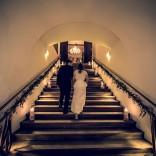 Nicht nur ein schönes Fotomotiv - Der Stiegenaufgang vom Schloss Maria Loretto