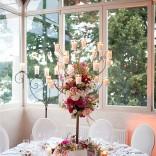 Eine stimmige Tischdekoration darf bei einer Hochzeit nicht fehlen!