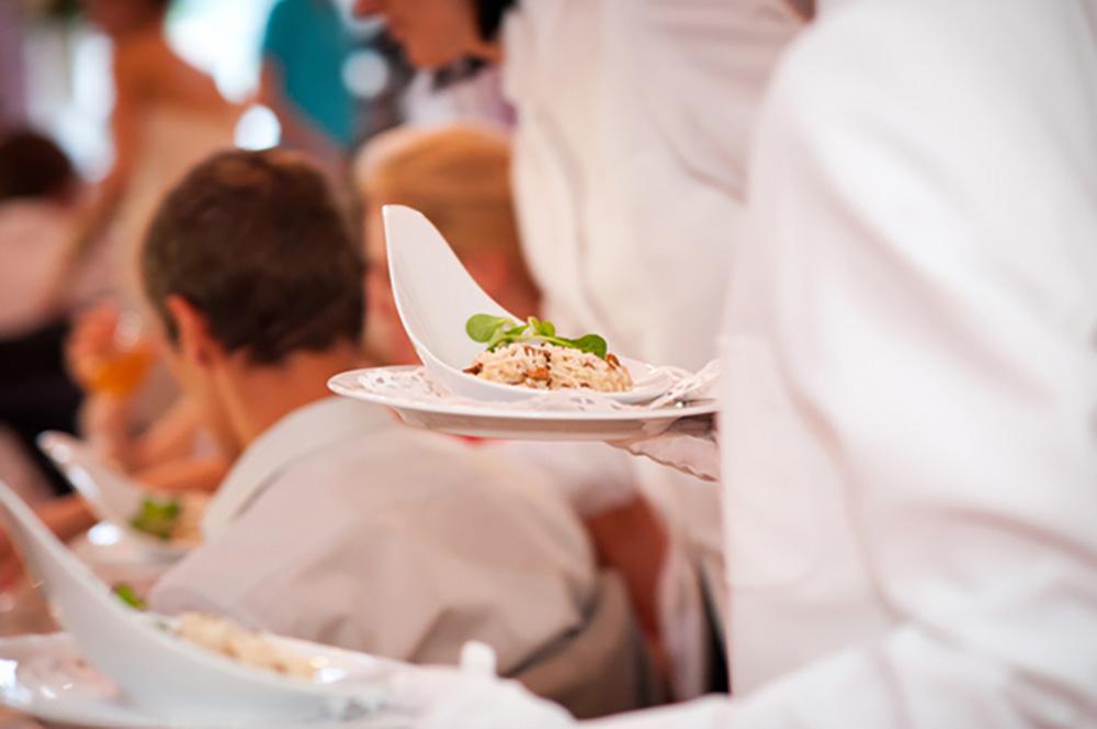 Im Sommer ein heiß begehrtes Pilzgericht - Risotto mit Eierschwammerl