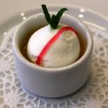 """Raffinierte Desserts für Ihr Hichzeitsmenü - """"Schneeball mit Zitronen-Custard"""""""