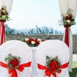 Feiern Sie Ihre Traumhochzeit im Schloss Maria Loretto - Stühle im Schlossgarten