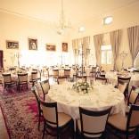 Der große Saal im Schloss Maria Loretto: ausreichend Platz für Sie, Ihre Gesellschaft und jede Menge Feierlaune