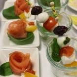 Lasen zum Zugreifen ein: Fingerfood von Feine Küche Kulterer