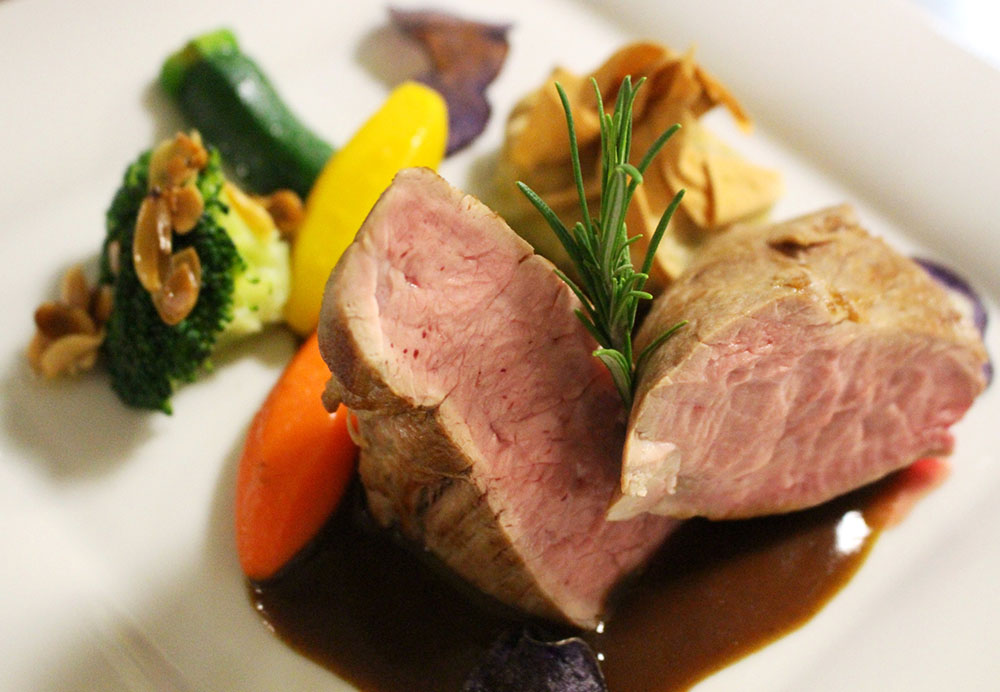 Zart und schmackhaft - Schweinefilet mit Gemüse
