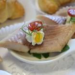Fischspezialitäten für Ihr Hochzeitsmenü - Geräucherte Forelle