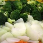 Schmackhaftes Gemüse darf bei keinem Buffet fehlen!